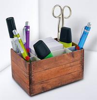 Schreibtisch-Organizer Mini gefüllt